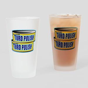 Turd Polish Drinking Glass