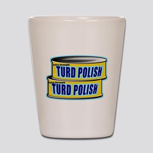 Turd Polish Shot Glass