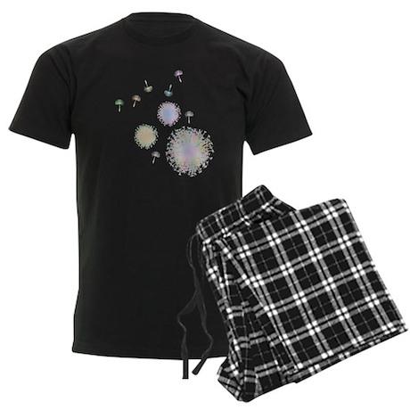 Dandelions Men's Dark Pajamas