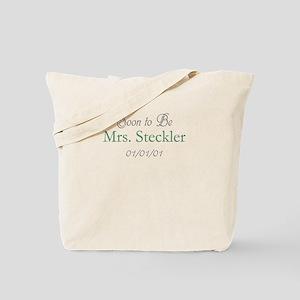 Custom Soon to Be Mrs. (Gree Tote Bag