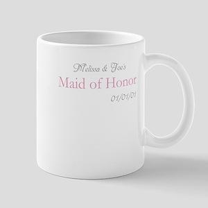 Custom Maid of Honor Mug