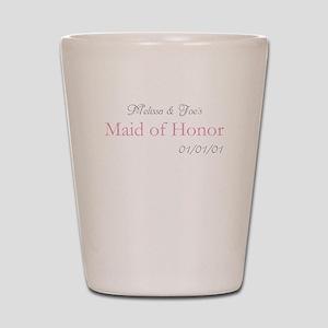 Custom Maid of Honor Shot Glass