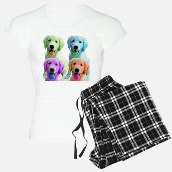 Golden Retriever Warhol Pajamas