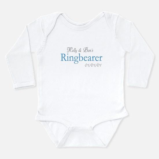 Custom Ringbearer Long Sleeve Infant Bodysuit