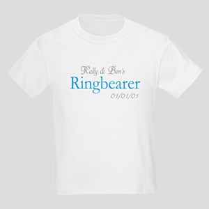 Custom Ringbearer Kids Light T-Shirt