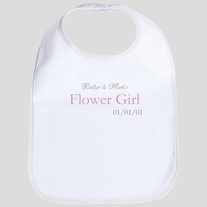 Custom Flower Girl Bib