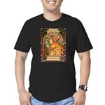 Brigid Mhairi Poster Men's Fitted T-Shirt (dark)