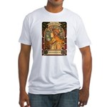 Brigid Mhairi Poster Fitted T-Shirt
