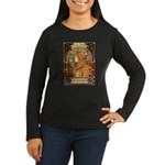 Brigid Mhairi Poster Women's Long Sleeve T-Shirt