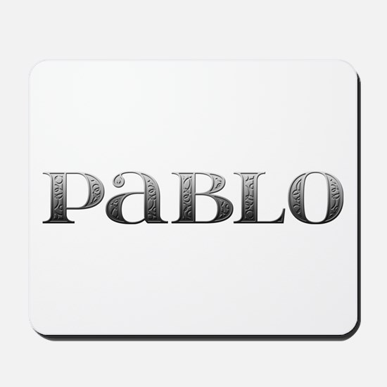 Pablo Carved Metal Mousepad
