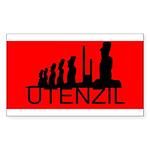 Utenzil Sticker (Rectangle 10 pk)