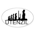 Utenzil Sticker (Oval 50 pk)