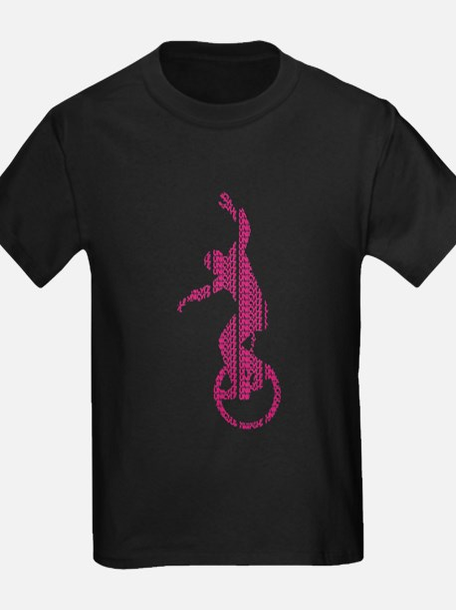 Kids Dark Unicycle T-Shirt