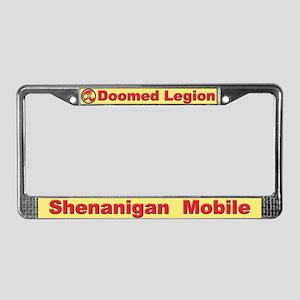 DL License Plate Frame