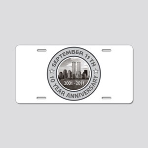 September 11 Anniversary Aluminum License Plate
