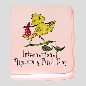 Celebrate Migratory Birds baby blanket