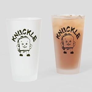 Knuckle Sandwich! Drinking Glass