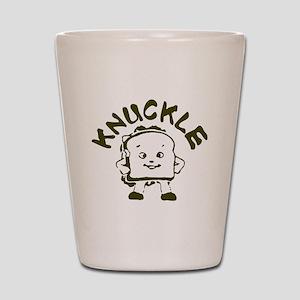 Knuckle Sandwich! Shot Glass
