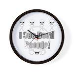 Cod gamer 4 Wall Clock