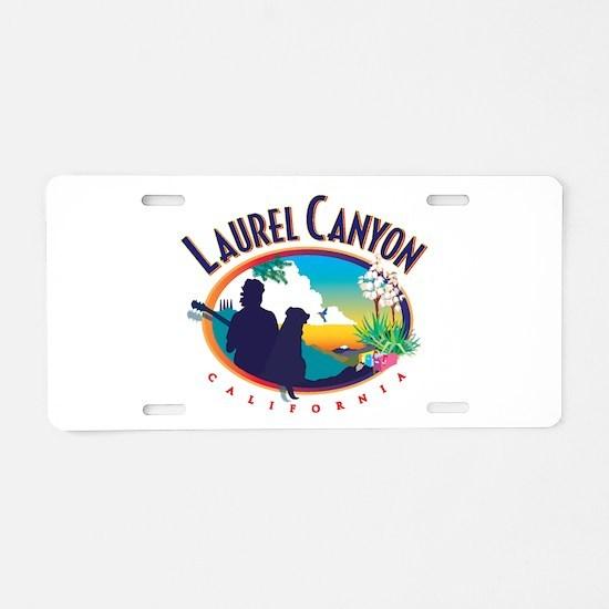 Cute Hollywood Aluminum License Plate