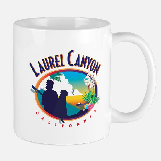Laurel Canyon Logo Mugs