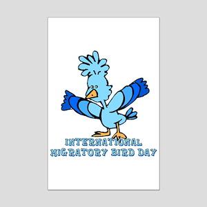 Intl Migratory Bird Day Mini Poster Print