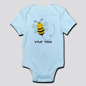Personalzied Kid's Honey Bee, Black & Yellow Body