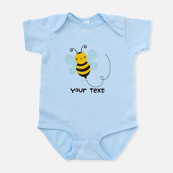 Personalzied Kid's Honey Bee, Black & Yellow Body
