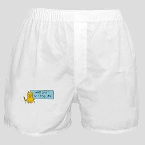 Cute Cartoon Cat Boxer Shorts