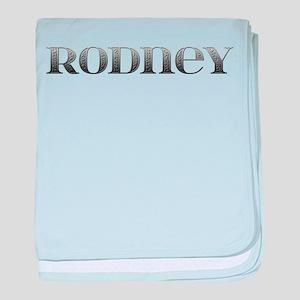 Rodney Carved Metal baby blanket