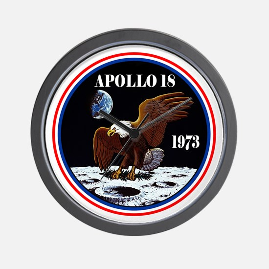 Apollo 18 (Movie) Wall Clock