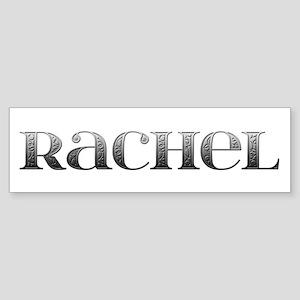 Rachel Carved Metal Bumper Sticker