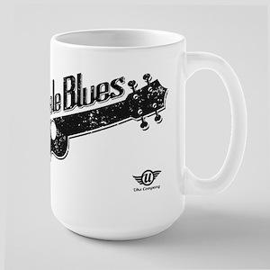Ukulele Blues Large Mug