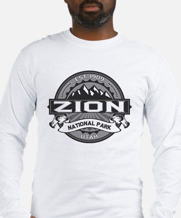 Zion Ansel Adams Long Sleeve T-Shirt