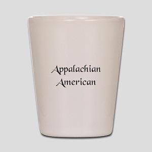 Appalachian American Shot Glass
