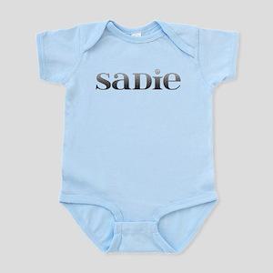 Sadie Carved Metal Infant Bodysuit