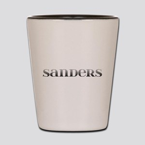 Sanders Carved Metal Shot Glass