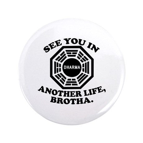 "Classic LOST Quote 3.5"" Button (100 pack)"