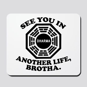 Classic LOST Quote Mousepad