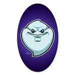 The Ghost Sticker (Oval 10 pk)