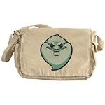 The Ghost Messenger Bag