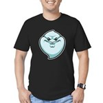 The Ghost Men's Fitted T-Shirt (dark)