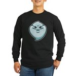 The Ghost Long Sleeve Dark T-Shirt