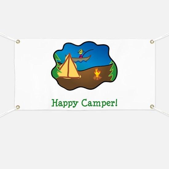 Happy Camper! Banner