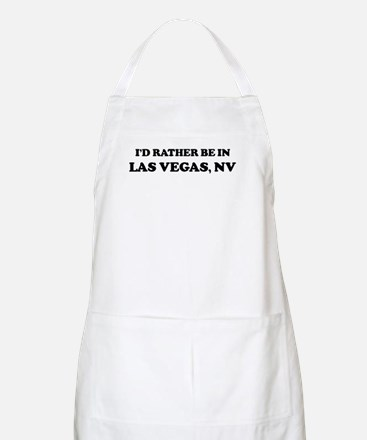 Rather be in Las Vegas BBQ Apron