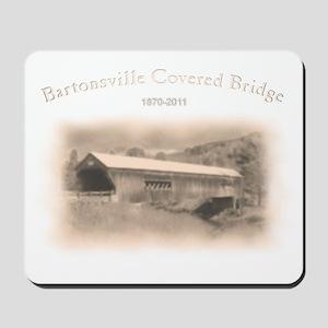 Bartonsville Covered Bridge Mousepad