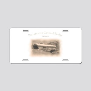 Bartonsville Covered Bridge Aluminum License Plate