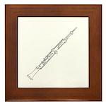 Oboe Framed Tile