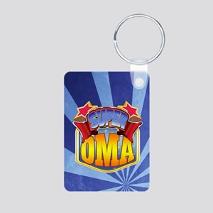 Super Oma Aluminum Photo Keychain