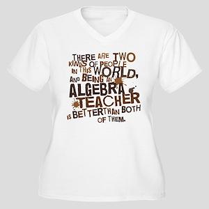 Algebra Teacher (Funny) Gift Women's Plus Size V-N